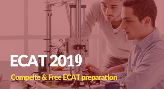 Online ECAT Entry Test Preparation Videos Lectures