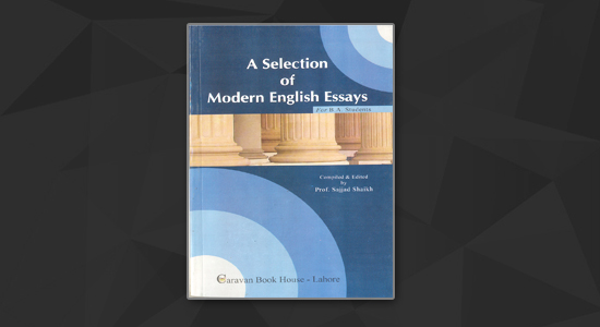 ba english th year a selection of modern english essays