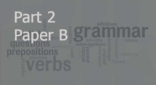 "BA English Part 2 Paper ""B"""